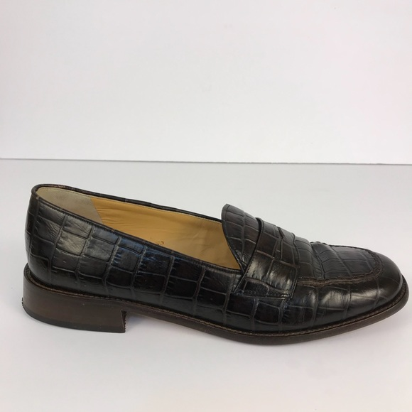 68e1d51e0c3 Coach Shoes - COACH Penny Loafers women Leather 9 MADE IN ITALY